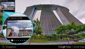 У Google Street View з'явилася функція «машини часу»