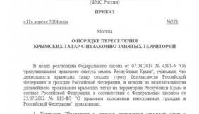 Хакери зламали сайт парламентської газети РФ і виклали там указ про переселення кримських татар