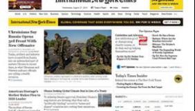 «Відлиги в Україні поки  що немає» - огляд англомовних ЗМІ