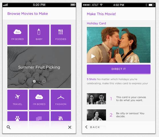 Google купує додаток для створення коротких фільмів на телефоні