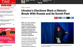 Українські вибори означають історичний розрив із Росією та радянським минулим – журналіст Time