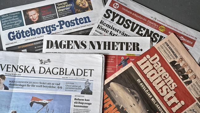У Швеції довіра до журналів зросла, а кількість нової інформації для читачів зменшилася – опитування