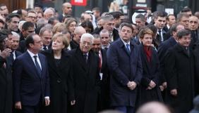RSF засудила присутність на Марші єдності у Парижі представників репресивних режимів