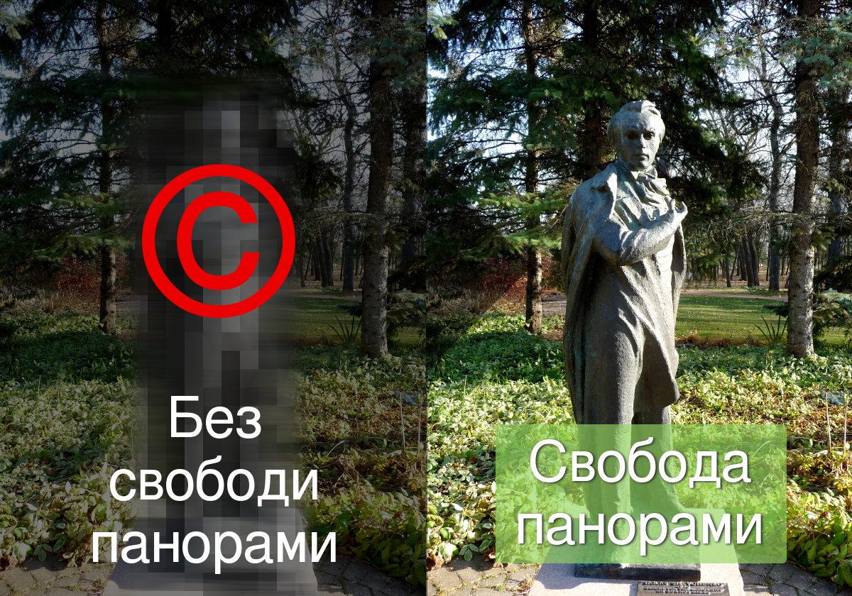 Активісти україномовної «Вікіпедії» розпочинають кампанію за ухвалення законопроекту про свободу панорами
