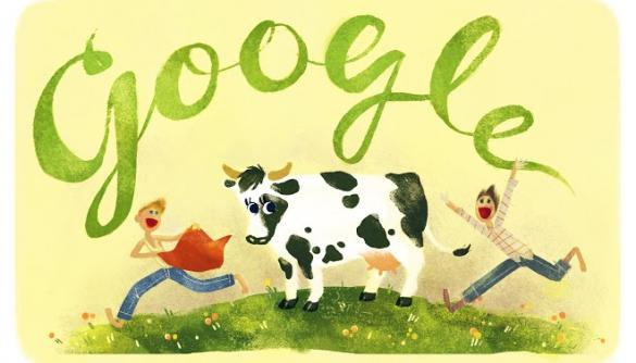 Сьогоднішній дудл Google присвятив Дню народження Всеволода Нестайка
