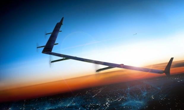 Facebook тестує дрони, що мають забезпечувати інтернетом мешканців сіл