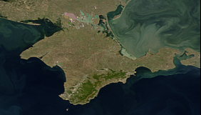 Користувачі різних мовних версій «Вікіпедії» по-своєму визначають статус Криму