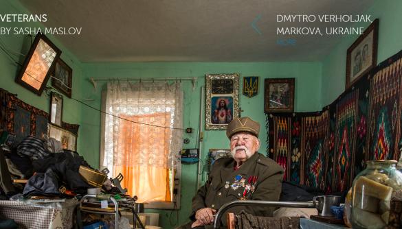Український фотограф підготував серію історій ветеранів Другої світової війни з усього світу