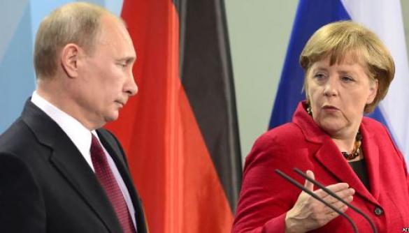 Кремль цензурував заяву Меркель про Крим в офіційному перекладі