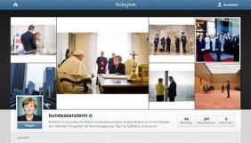 Ангела Меркель завела аккаунт в Instagram - жодних селфі