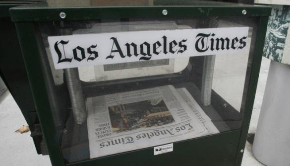Повідомлення про землетрус для Los Angeles Times написав робот