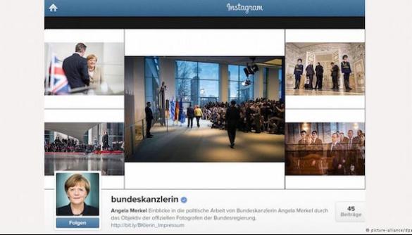 В Instagram Меркель видалятимуть коментарі кирилицею