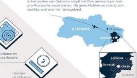 Прокуратура Нідерландів опублікувала карту України без Криму та частини Одещини