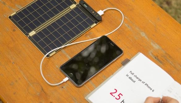 «Сонячний папір» заряджає iPhone 6 за 2,5 години