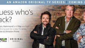 Кларксон, Хаммонд та Мей запустять нове автомобільне шоу на Amazon