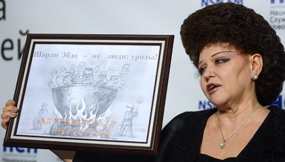 Український карикатурист звинуватив у плагіаті сенатора РФ Валентину Петренко