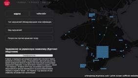 На сайті «Крим SOS» створено інтерактивну карту порушень прав людини у Криму