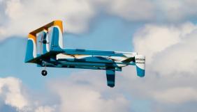 Amazon представив гібридний дрон для доставки товарів покупцям