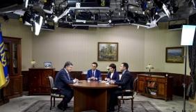 Інтерв'ю Порошенка показали три телеканали