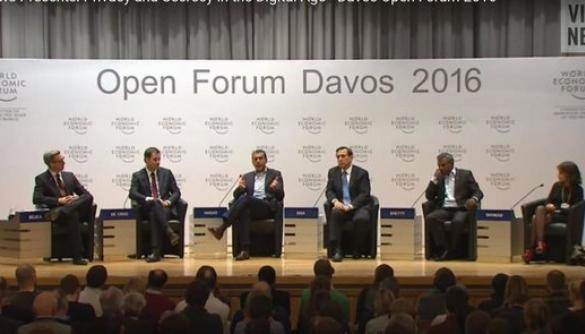 WEF-2016: п'ять запитань світовим політикам та активістам про масове спостереження за громадянами й свободу слова