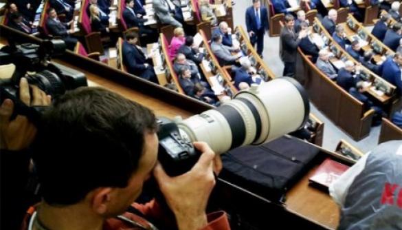 Комітет свободи слова пропонує пускати журналістів до дипломатичних та гостьових лож парламенту