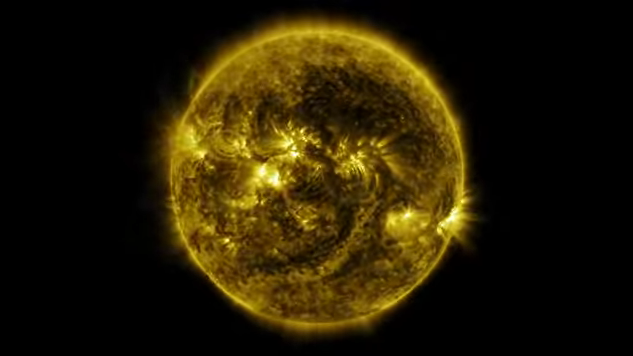 NASA показало рік з життя Сонця в одному відео