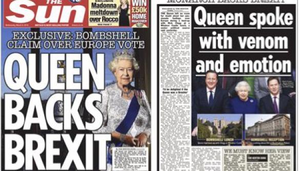 Букінгемський палац поскаржився на газету Sun через статтю про королеву
