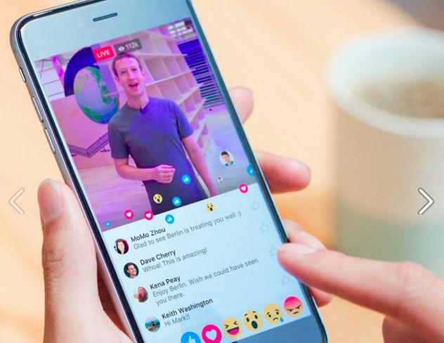 Facebook запустив функцію прямої відеотрансляції