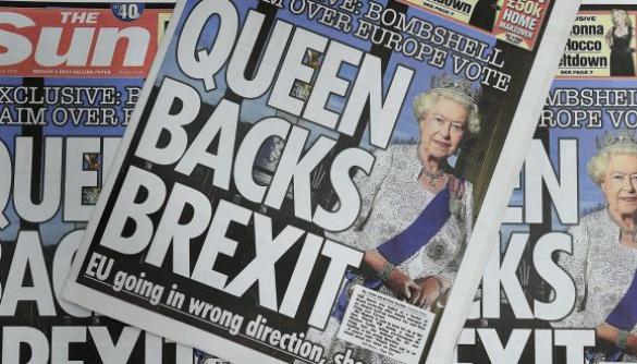 Газету Sun зобов'язали спростувати заголовок «Королева підтримує Brexit»