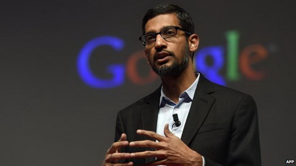 Хакери зламали акаунт CEO Google Сундара Пічаї