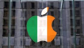 Ірландський парламент обговорить податковий штраф Apple