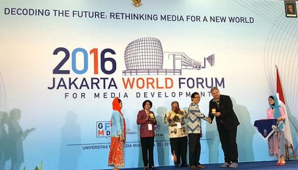 Що говорять у світі: враження від Jakarta World Forum for Media Development 2016