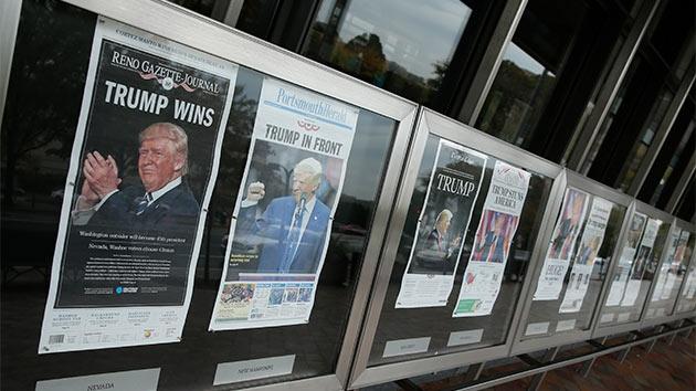 Шок на перших шпальтах: як виглядають обкладинки американських газет після виборів (огляд)