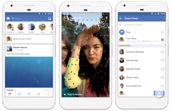 Facebook заспускає Stories услід за Snapchat та Instagram