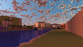 Гравці Minecraft створили копію Відню за допомогою піксель-арту