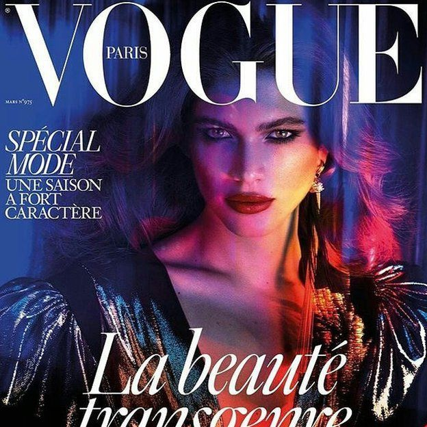 Французький Vogue уперше опублікує фото трансгендера на обкладинці