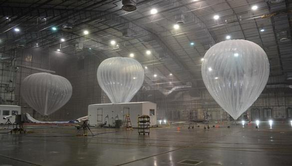 Google передумала покрити Землю інтернетом за допомогою аеростатів
