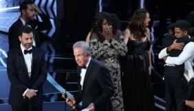 Оскар-2017: «Ла-Ла Ленд» оголосили переможцем помилково