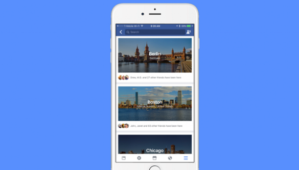 Facebook тестує сервіс путівника по містах City Guides