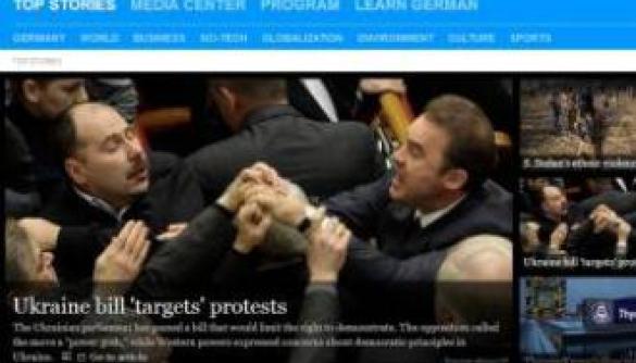 Іноземні медіа називають законодавчі зміни в Україні «антипротестними» (огляд)