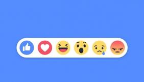 Facebook додала «реакції» в коментарі