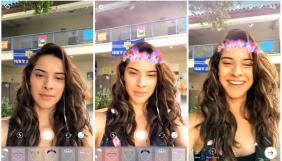 Instagram запустила «маски» за аналогією зі Snapchat