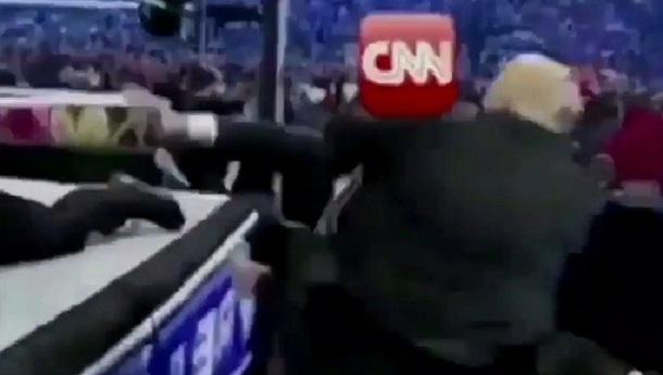 Автор відео з «побиттям» CNN вибачився за створення ролику