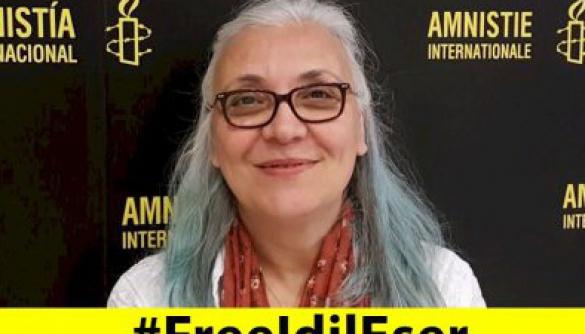 Amnesty International закликає звільнити директорку представництва організації у Туреччині