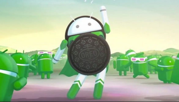 Google презентувала Android 8 з лого у вигляді печива Oreo