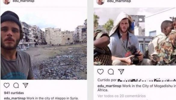 Журналістка BBC викрила чоловіка, який роками видавав себе за військового фотокореспондента