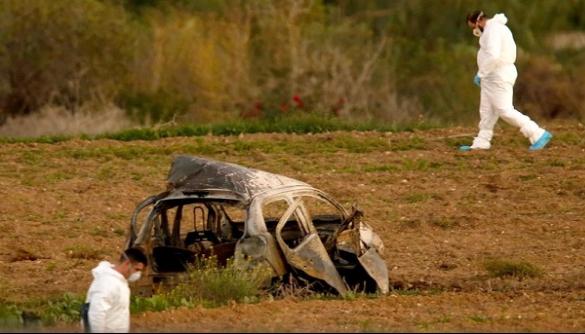 Підрив авто мальтійської журналістки здійснили через SMS – ЗМІ