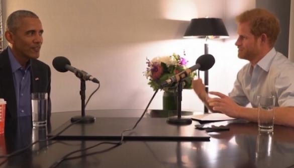 Принц Гаррі взяв інтерв'ю в Барака Обами для радіо ВВС