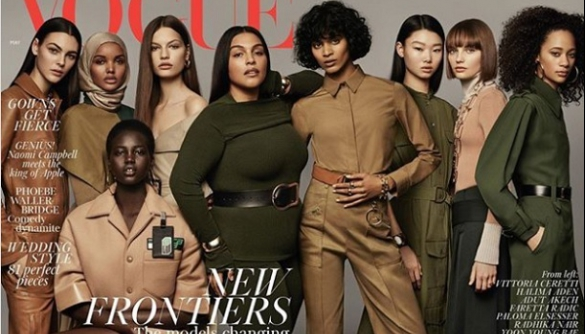 Героїнею обкладинки британського Vogue вперше стала модель у хіджабі