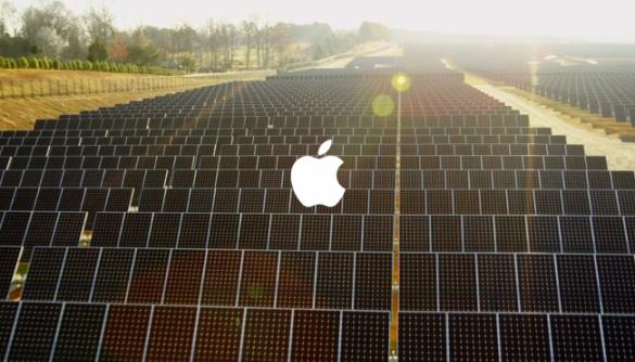 Apple заявила, що повністю перейшла на використання відновлюваної енергії